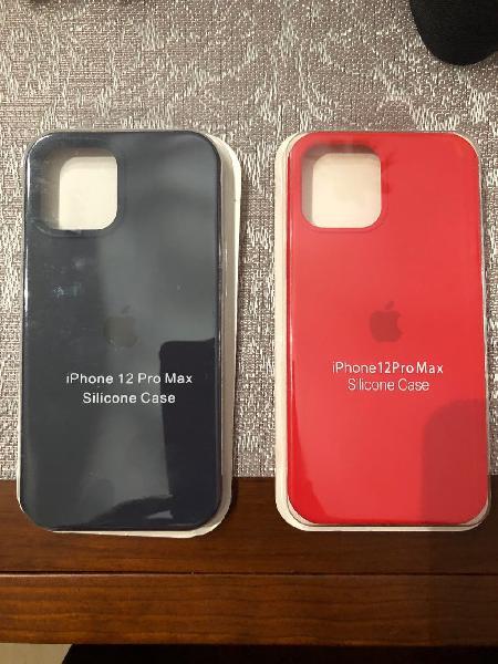 Funda silicona iphone 12 pro max