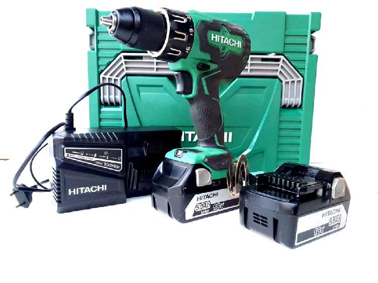 Hitachi dv18dbsl taladro atornillador 18v