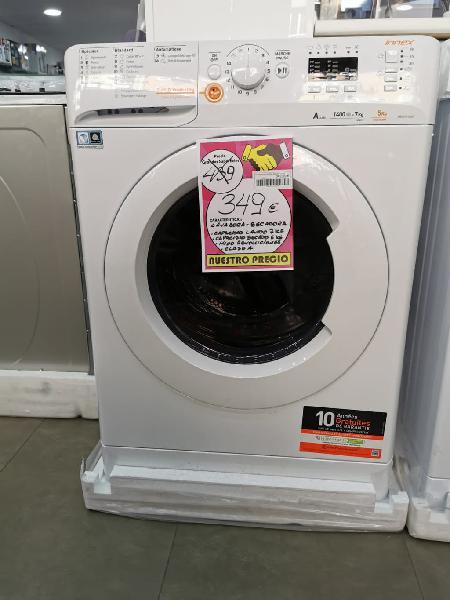 Lavadora secadora indesit 7+5 kg