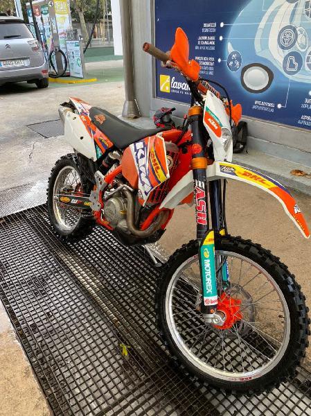 Moto enduro ktm exc 450 4t 2006
