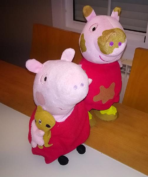 Peppa pig saltarina + peppa pig parlanchina