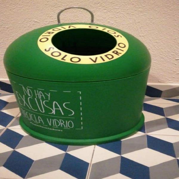 Basura container reciclaje