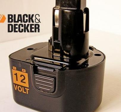 Bateria para taladro black decker 12v a9252 - sl1