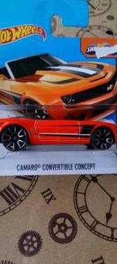Camaro convertible concept hot wheels 2015