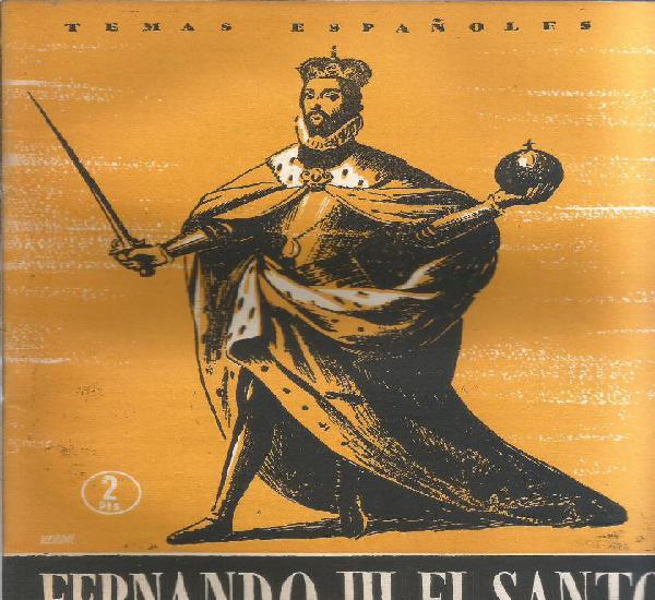 Fernando iii el santo - francisco de p. solano