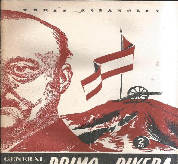 General primo de rivera - césar gonazalez ruano