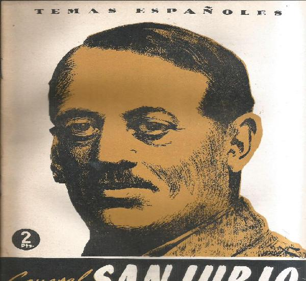 General sanjurjo - cesar gonzales ruano