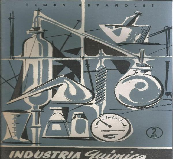 Industria química y farmaceutica - josé maría deleyto