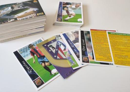 Pack 131 unidades cromos tarjetas liga 2003 mundic