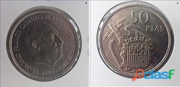Pareja 50 pesetas ( ba )