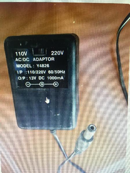 Adaptador de corriente 220v 110v - 13v