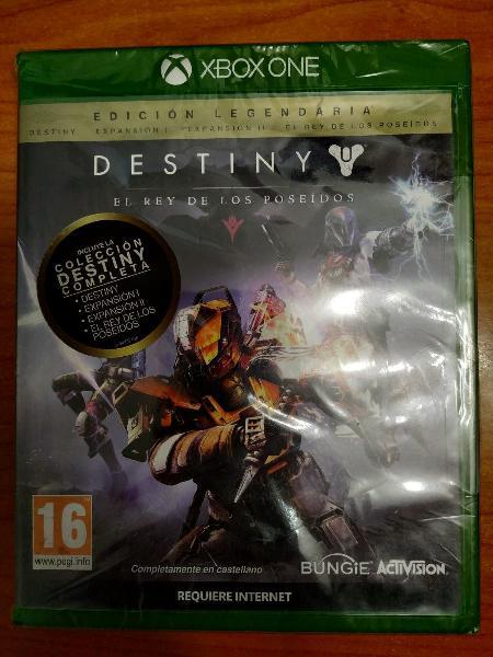 Destiny edición legendaria xbox one precintado