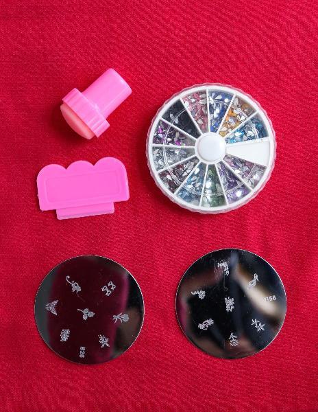 Lote decoración uñas