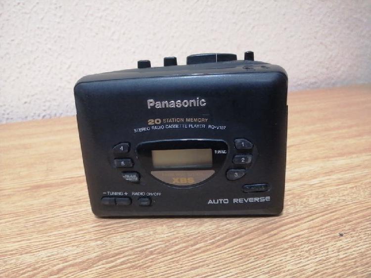 Radio cassette player panasonic