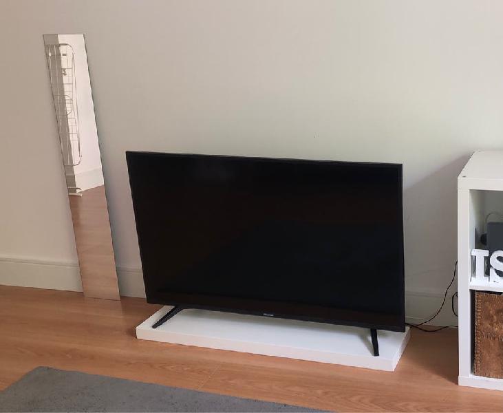 "Televisor inteligente 50"" 4k ultra hd hisense"