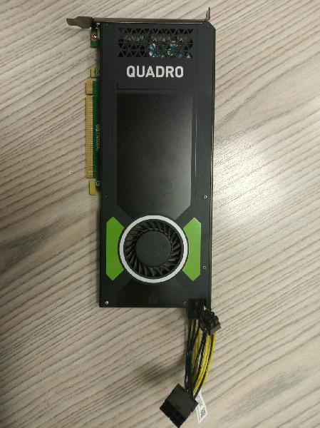 Vga hp nvidia quadro m4000 - 8 gb de memoria gddr5