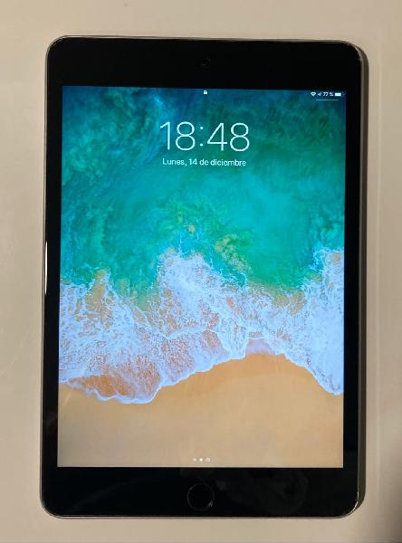 Ipad mini 4 wifi 64 gb gris espacial