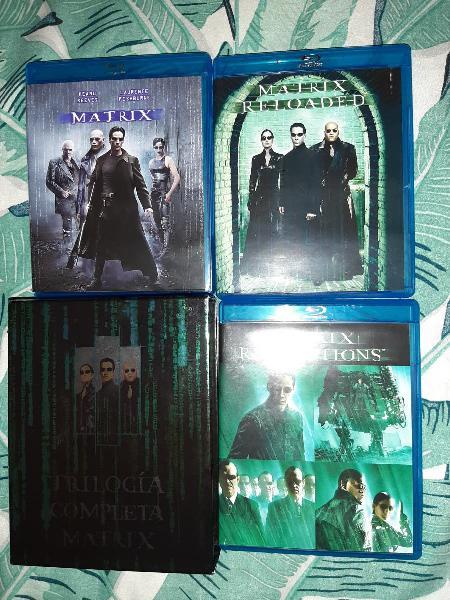 Pack coleccion matrix completa blu ray