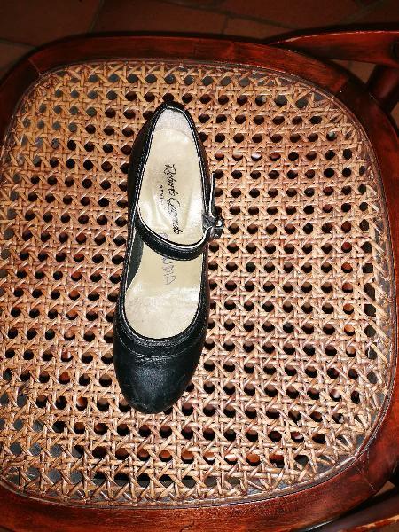 Zapatos baile niña talla 33 roberto garrudo
