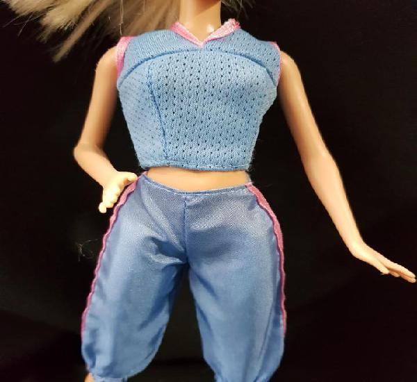 Conjunto barbie camiseta y pantalon