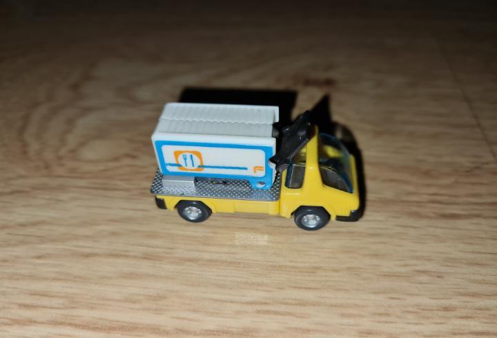 Figura kinder ferrero antigua coche camión carga obras