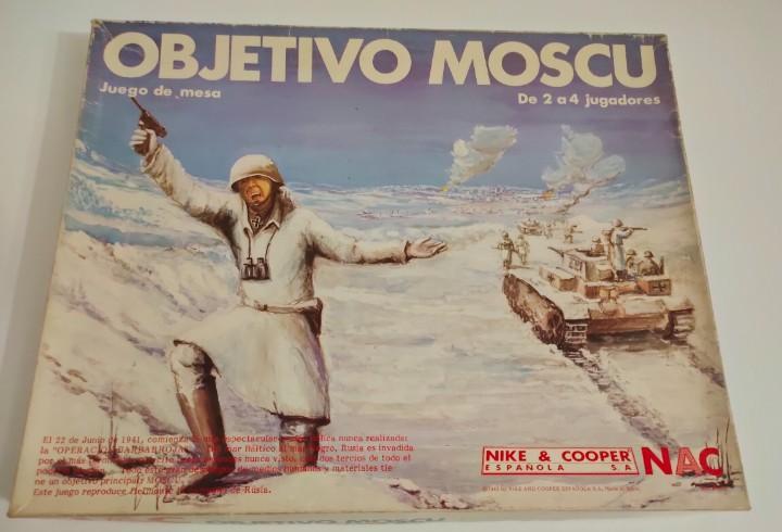 Juego de guerra objetivo moscú. nac. 1983. nike & cooper.