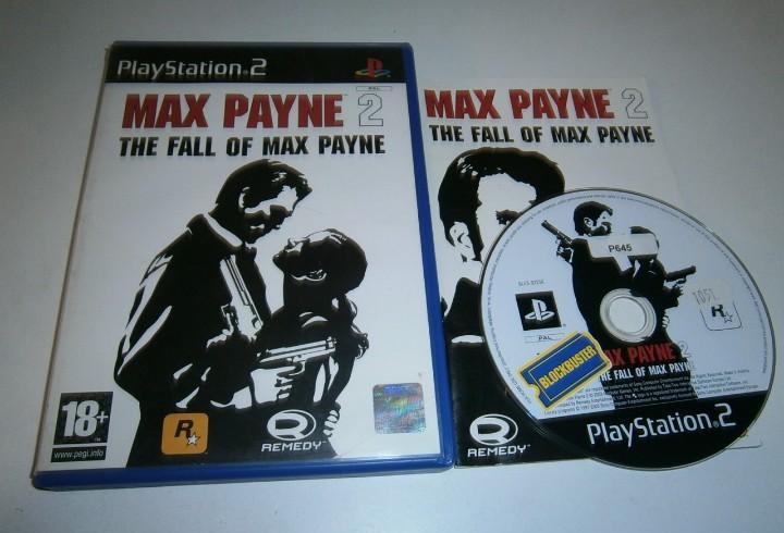 Max payne 2 playstation 2 pal españa completo