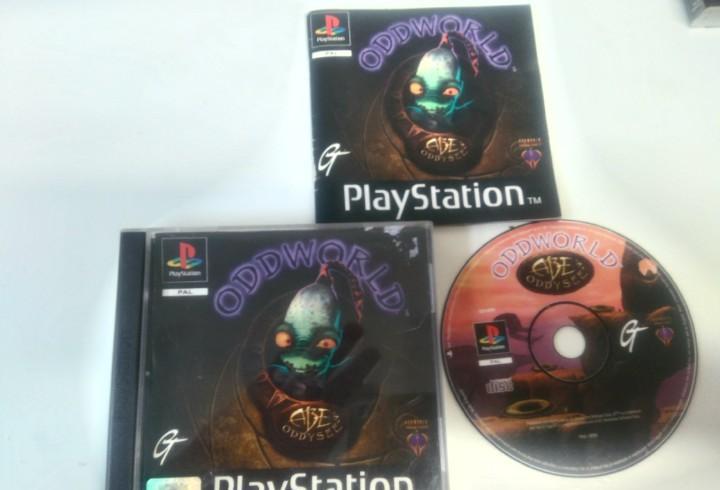 Oddworld ps1 ps2 ps3 mire mis otros juegos nintendo sony