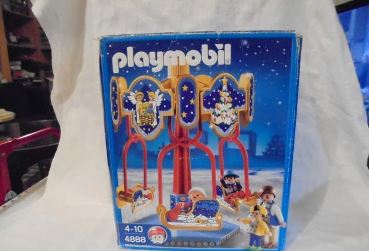Playmobil 4888.carrusel navideño.a falta solo de las