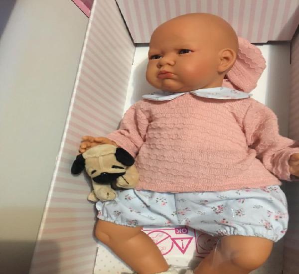 Precioso bebé pucheritos de antonio juan, llora y balbucea