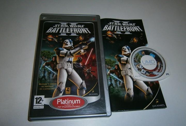 Star wars battlefront ii psp pal españa completo