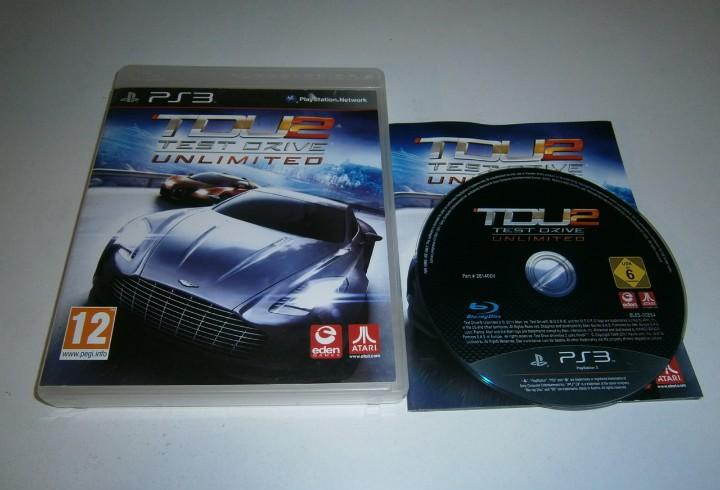 Test drive unlimited 2 playstation 3 pal españa completo