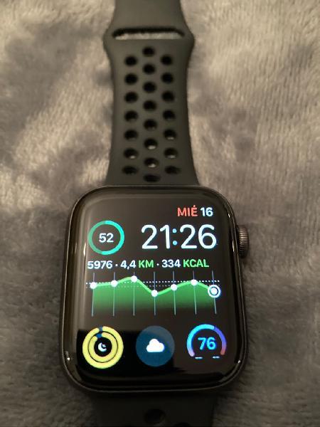 Apple watch 4, 44 mm edición nike gps garantía