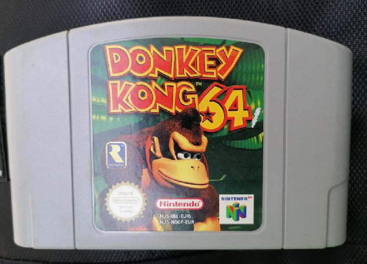 Donkey kong 64 original pal nintendo 64 n64