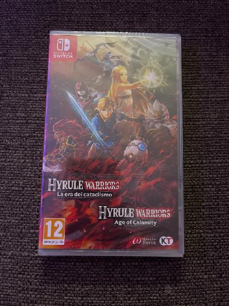 Hyrule warrios: age of calamity nsw