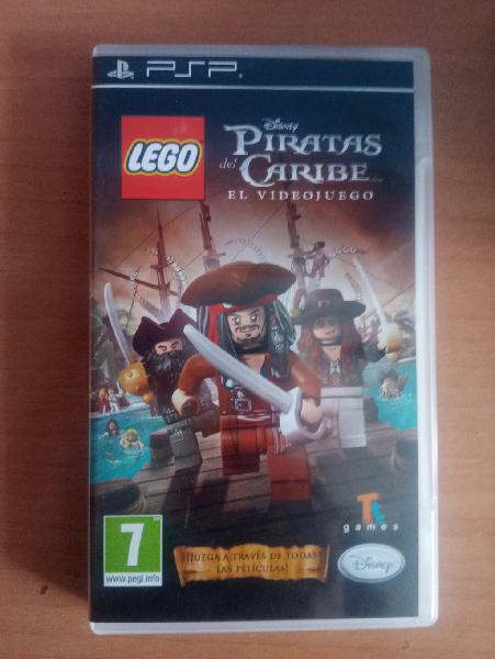 Lego piratas del caribe juego psp.