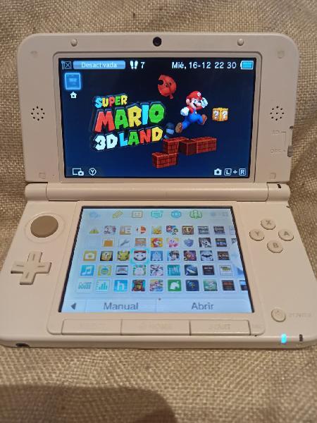 Nintendo 3ds xl + 50 juegos mejores de nintendo