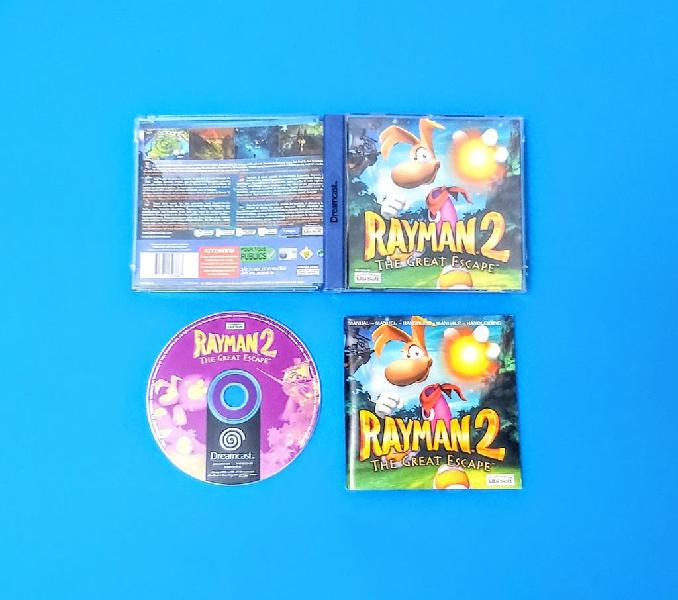 Rayman 2: the great escape / dreamcast