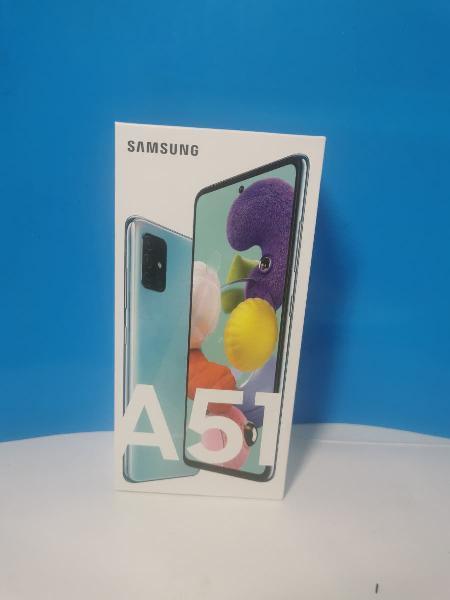 Samsung a51 128 color azul (sin.estrenal)