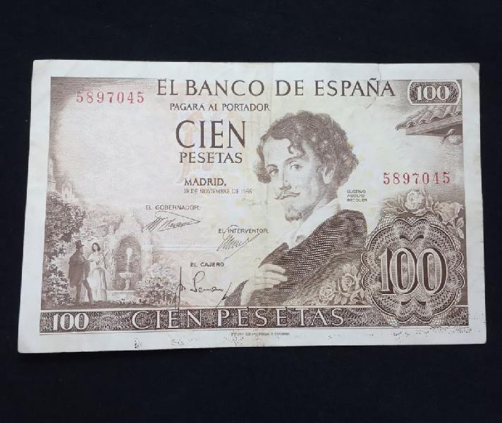 1965- billete 100 pesetas