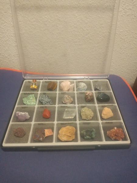 43 primeros minerales colecc nat geo