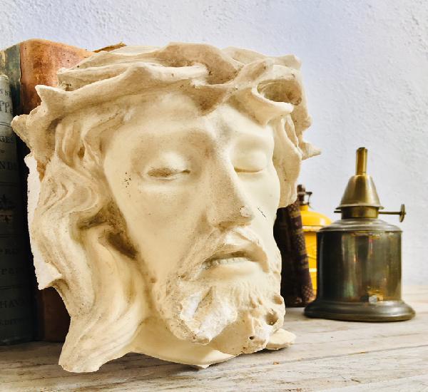 Cabeza jesucristo imagen religiosa cristo con espinas figura