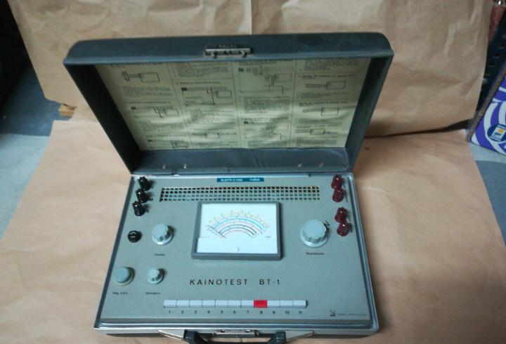 Kainotest bt-1 comprador instalaciones baja tensión 220v