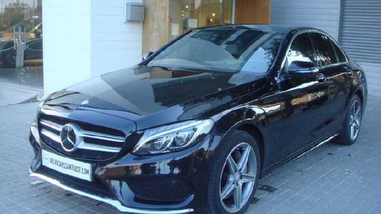 Mercedes-benz clase c 300 blue tec hvbrid amg blue tec
