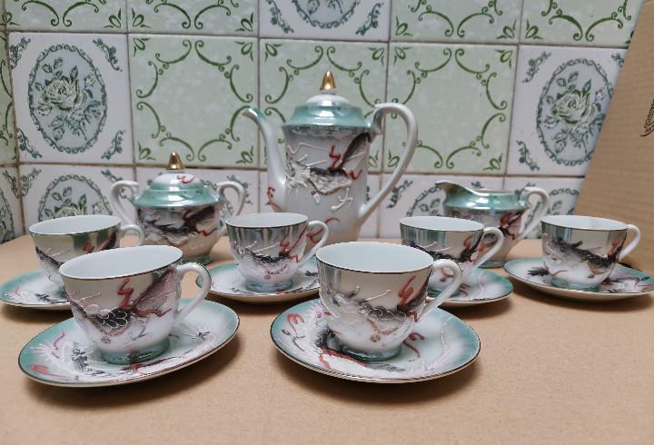 Ocasion coleccionistas juego café té tetera tazas platos