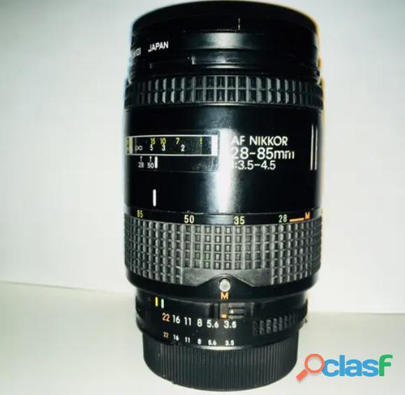 Objetivo Nikon Af 28 85 mm