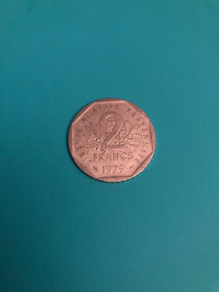 Republica francesa 1979 2 francos
