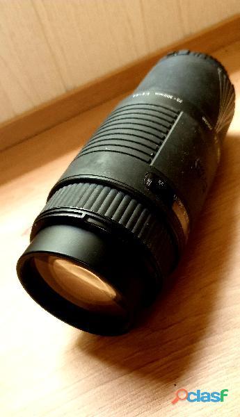 Tele Objetivo zoom Af 75 300 mm