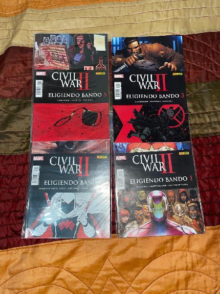 Civil war 2 eligiendo bando casi completa