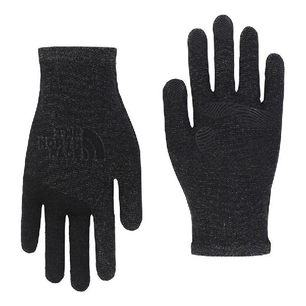 Guantes The North Face Etip Knit gris negro